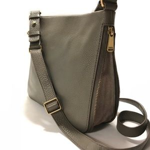 Fossil Gray Preston Crossbody Bag